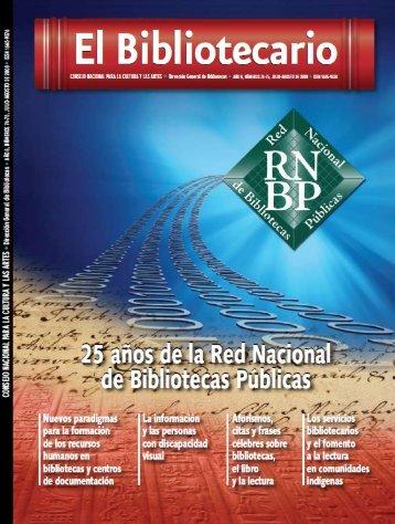 jul-ago - Dirección General de Bibliotecas - Consejo Nacional para ...