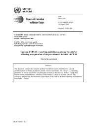 FCCC/SBSTA/2006/9 - United Nations Framework Convention on ...