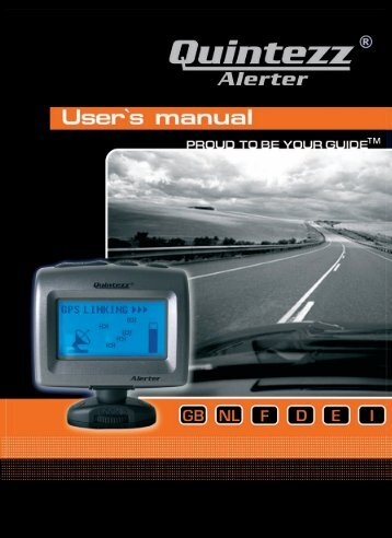 Alerter manual GB - Quintezz