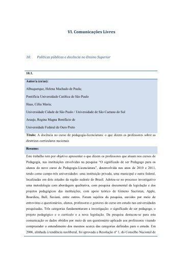 Resumos Tema 10 - Faculdade de Psicologia e de Ciências da ...