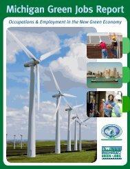 Michigan Green Jobs Report 2009 - Michigan Labor Market ...