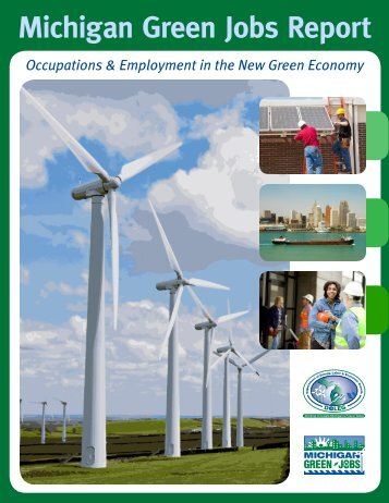Michigan Green Jobs Report 2009 - Michigan Labor Market ...