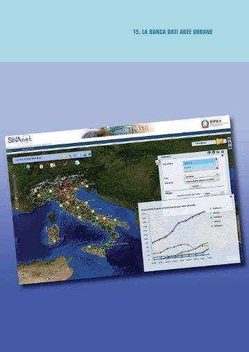 La banca dati aree urbane - Qualità Ambientale nelle Aree Urbane e ...