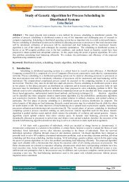 Evaluation of Mutual Exclusion Algorithms in Distributed ... - ijcer