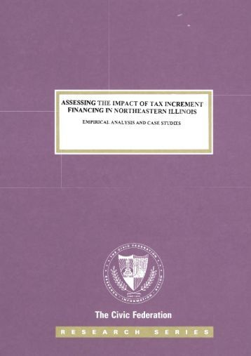 assessing the impact of tax increment financing in northeastern illinois