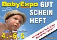Gutscheinheft 2012 (PDF) - BabyExpo