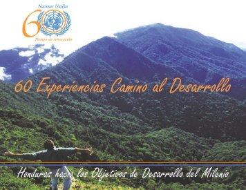 Honduras hacia los Objetivos de Desarrollo del Milenio - World ...