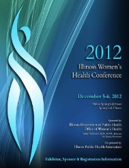 Registration Brochure - Illinois Public Health Association