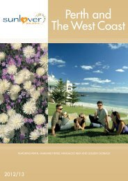 Perth and The West Coast - New South Wales Holidays