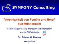 Vereinbarkeit von Familie und Beruf aus Männersicht - Symfony ...