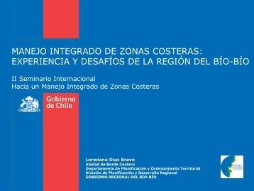 Propuesta metodológica Zonificaciones Costeras, Región ... - EULA