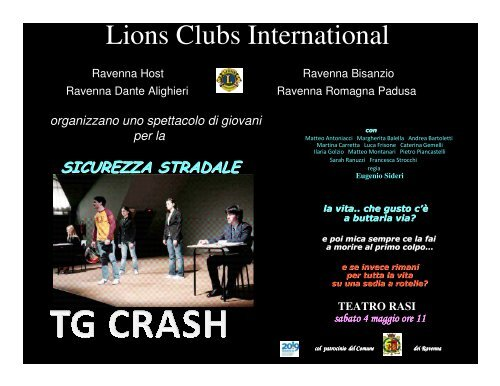 Lions Clubs International - Informagiovani Ravenna