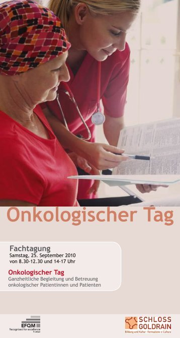 Onkologischer Tag - prosalus.info