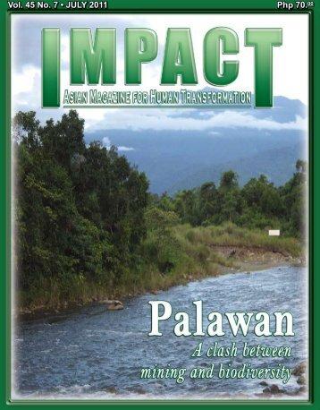 Php 70.00 Vol. 45 No. 7 • JULY 2011 - IMPACT Magazine Online!