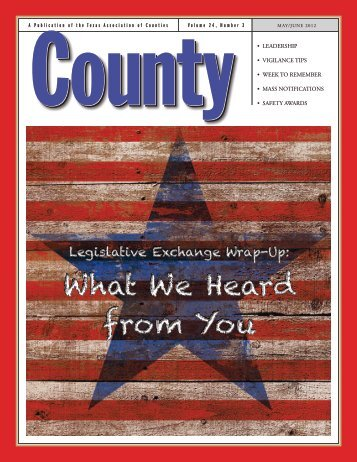 May/June - Texas Association of Counties