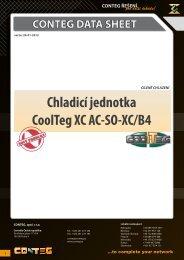 Chladicí jednotka CoolTeg XC AC‑SO‑XC/B4 - Conteg