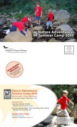 Nature adventuresTM Summer camp 2010 - Santa Barbara Museum ...