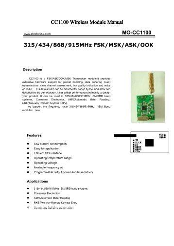 Arduino wave manual pdf elechouse