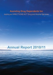 Annual Report 2010/11 - Directions ACT