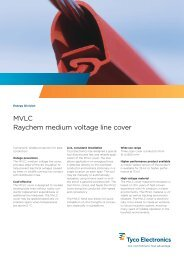MVLC Raychem medium voltage line cover - Eltima