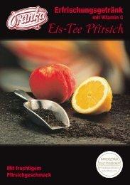 Eis-Tee Pfirsich