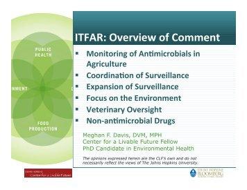 IFTAR comment, Meghan Davis