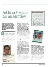 Fakta och myter om integration (pdf)