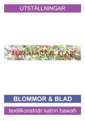 BLOMMOR & BLAD - Katrin Bawah