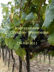 Impressionen 2. Dresdner Weinmesse - heinrich-schuetz-residenz.de