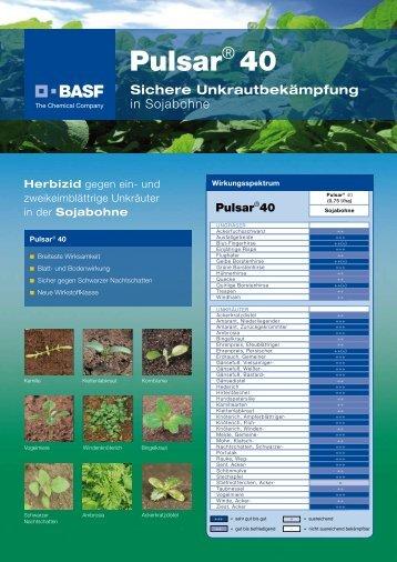 Pulsar® 40 - BASF Pflanzenschutz Österreich