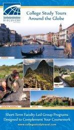 College Study Tours Around the Globe - WorldStrides