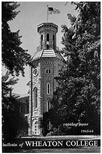 Wheaton College: 1963-64 - eSpace