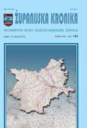 Županijska kronika broj 184 - Osječko baranjska županija