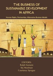 The Business of Sustainable Development in Africa:Human Rights ...