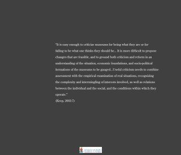 contemporary museum architecture - UPeTD