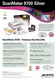 ScanMaker 8700 Silver