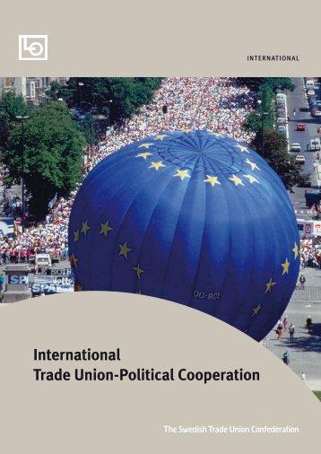 International Trade Union-Political Cooperation - Palmecenter