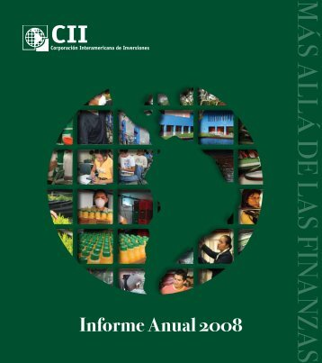 CII Informe Anual 2008 - Inter-American Investment Corporation