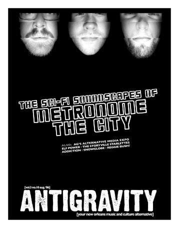 August 2006 (PDF) - Antigravity Magazine