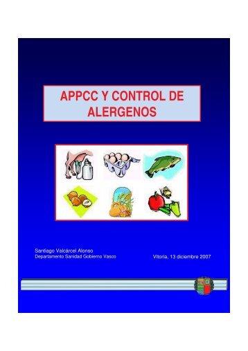 appcc y control de alergenos - Nasdap.ejgv.euskadi.net