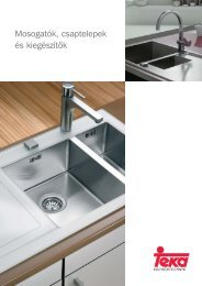 Teka mosogatók - eBolt