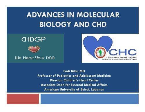 ADVANCES IN MOLECULAR BIOLOGY AND CHD