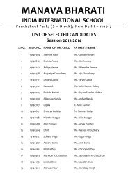 List of Selected and Waitlisted candidates.pdf - Manava Bharati ...