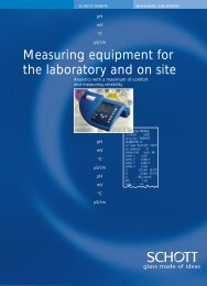 Measuring equipment for the laboratory and on site - Windaus