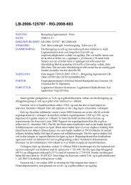 Borgarting lagmannsrett 21. januar 2008 - Toll og avgiftsdirektoratet