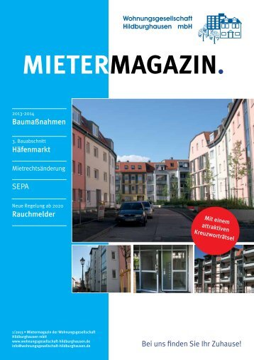 Ausgabe 1/2013 - Wohnungsgesellschaft Hildburghausen