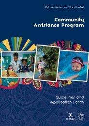 Community Assistance Program - Mount Isa Mines