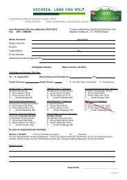 Buchungsformular (pdf) - Sachsen