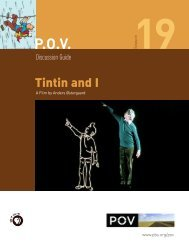 Tintin and I: Discussion Guide - PBS