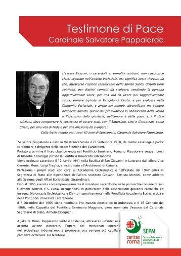 Cardinale Salvatore Pappalardo - Caritas Roma